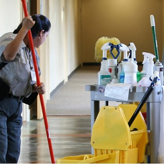 Trained Janitorial Staff